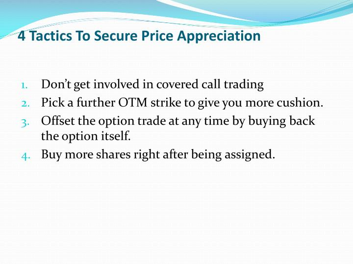 4 Tactics To Secure Price Appreciation