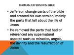 thomas jefferson s bible