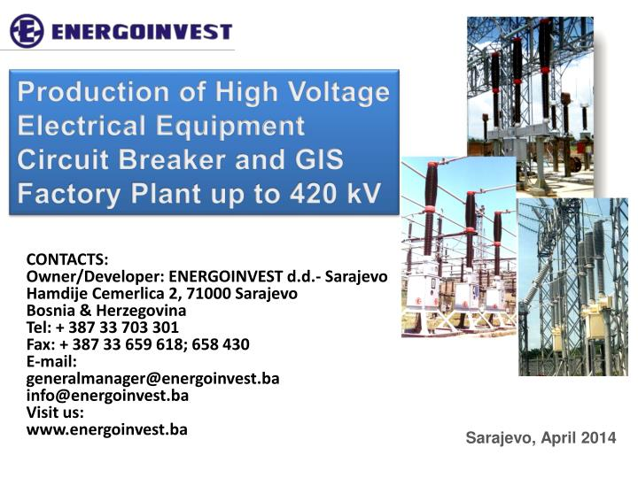 Production of High Voltage