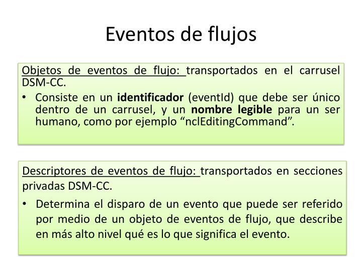 Eventos de flujos