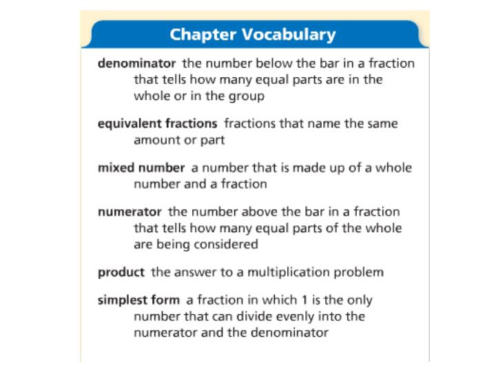 Chapter 7 multiply fractions