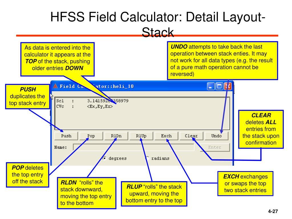 PPT - HFSS 的后处理及场计算器入门PowerPoint Presentation - ID:6510791