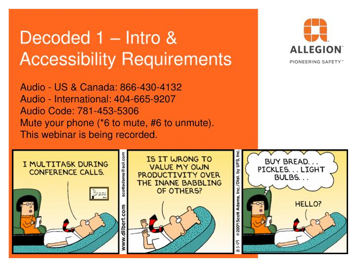 decoded 1 intro accessibility requirements n.