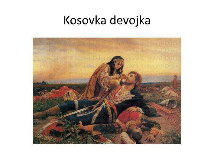 Kosovka devojka