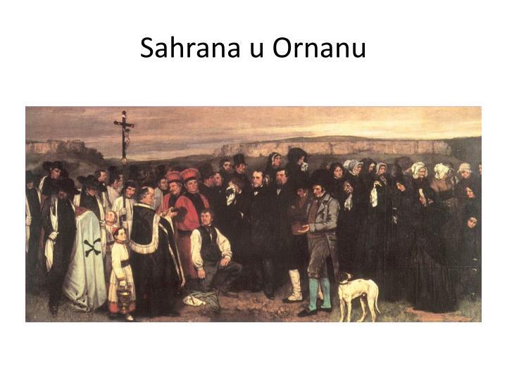Sahrana u Ornanu