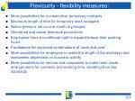 flexicurity flexibility measures