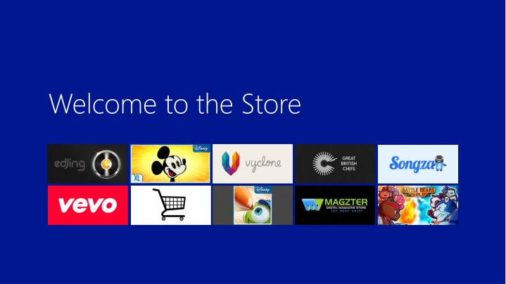 Welcome to the Store