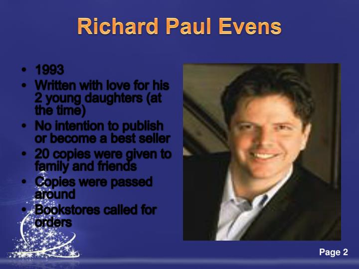 Richard paul evens