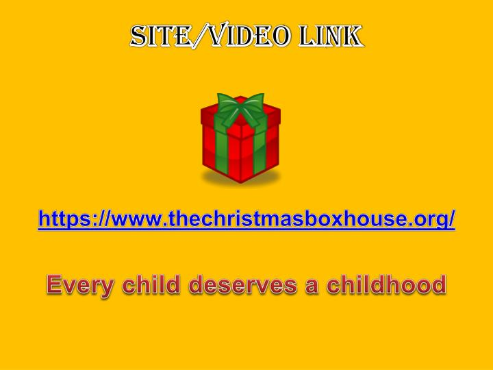 Site/Video Link