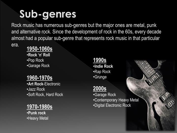 development of rock music