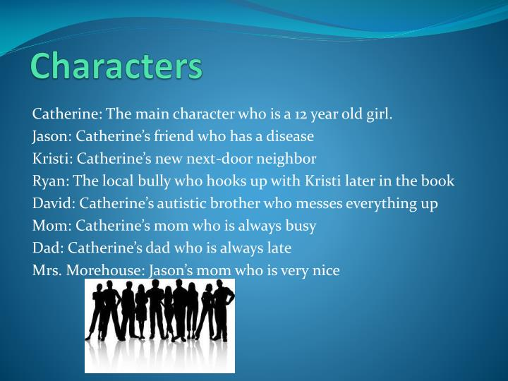 rules by cynthia lord character traits