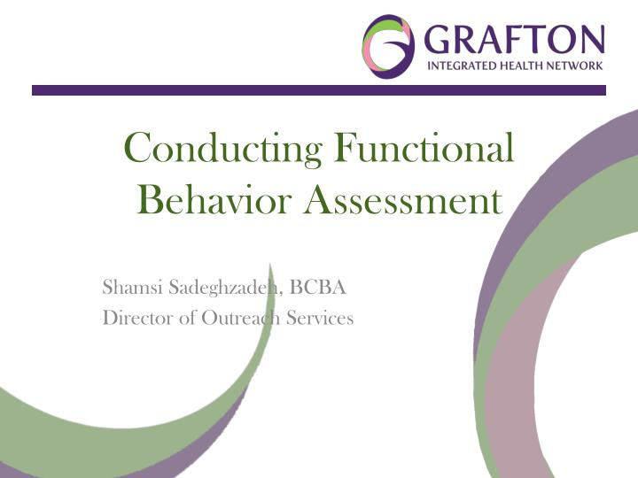 Ppt  Conducting Functional Behavior Assessment Powerpoint