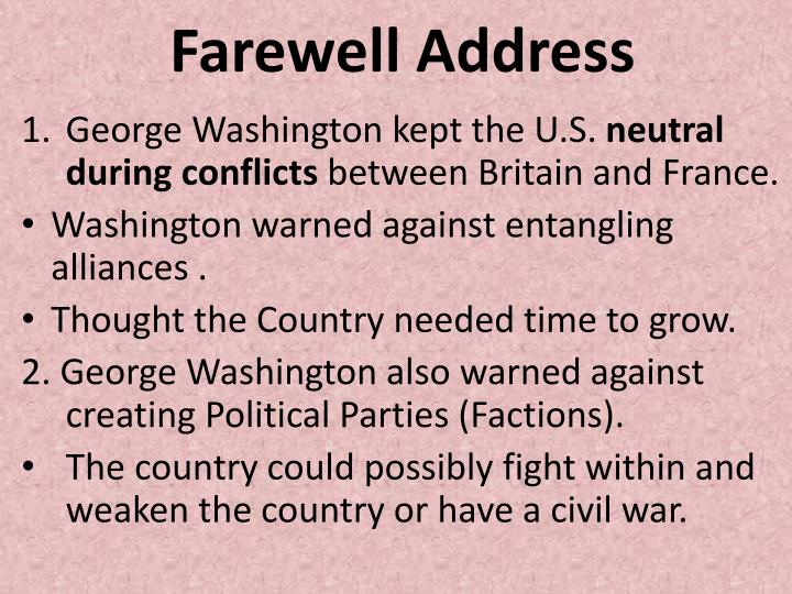 Farewell Address