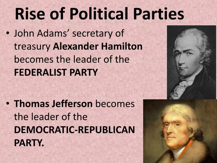 Rise of Political Parties