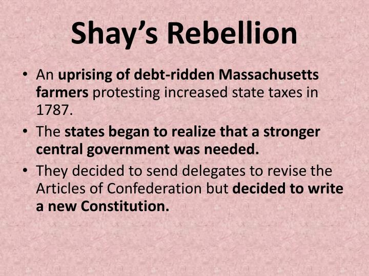 Shay's Rebellion