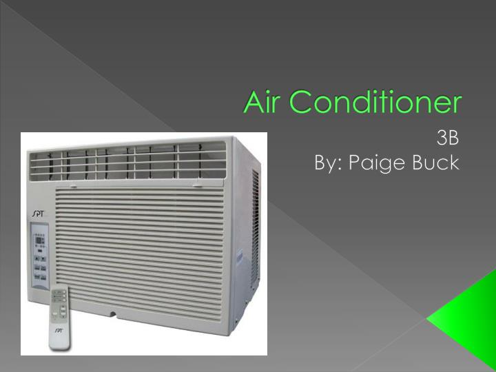 air conditioner n.