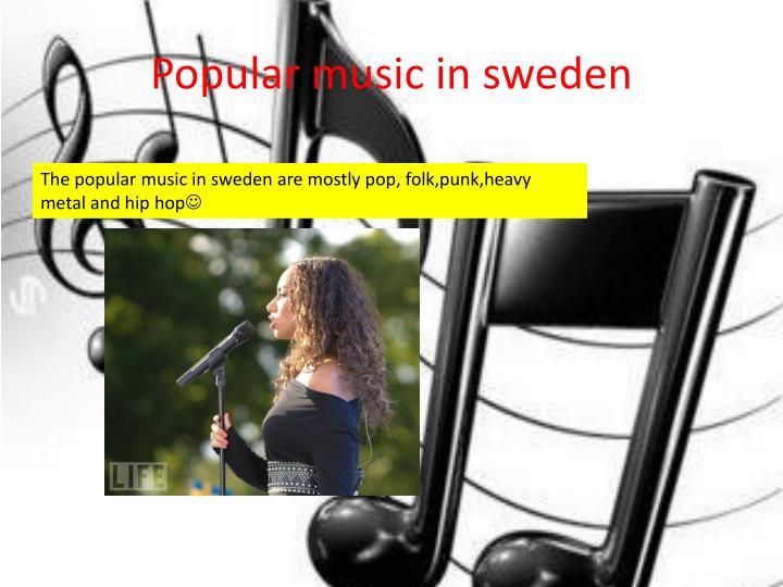 Popular music in