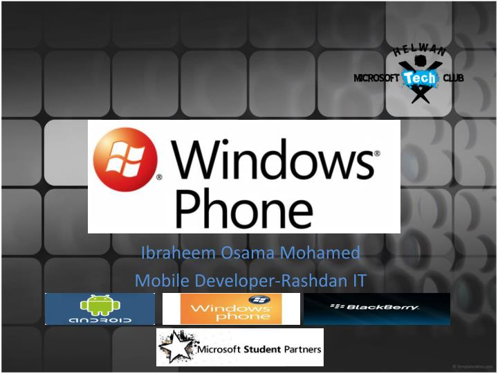 ibraheem osama mohamed mobile developer rashdan it n.