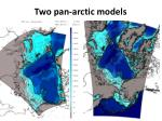 two pan arctic models