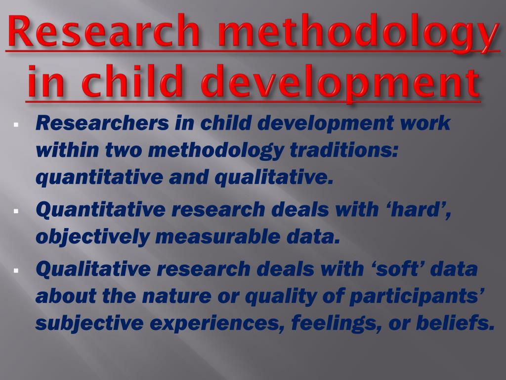 Social work dissertation methodology