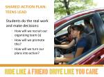 shared action plan teens lead