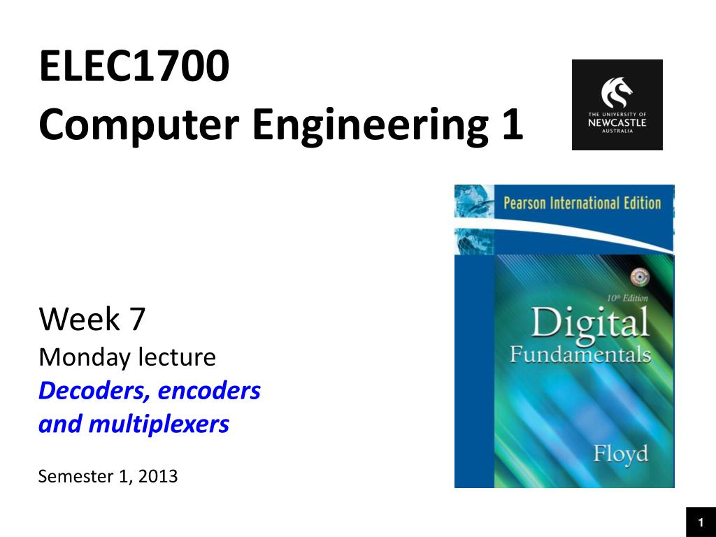 Ppt Elec1700 Computer Engineering 1 Week 7 Monday Lecture Decoders 3 8 Decoder Logic Diagram Encoders And Multiplexers Powerpoint Presentation Id6514310