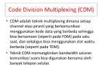 code division multiplexing cdm