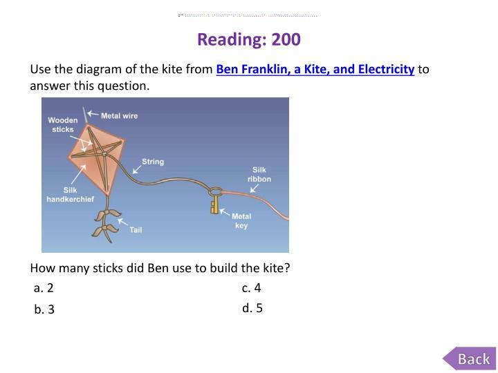 Reading: 200