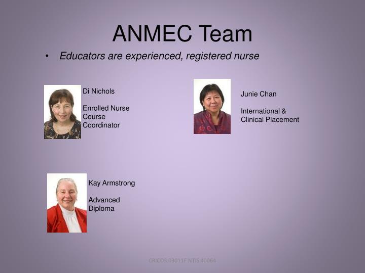 ANMEC Team
