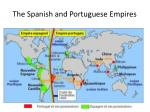 the spanish and portuguese empires