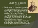 louis vii le jeune 1137 1180