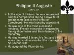 philippe ii auguste 1180 1223