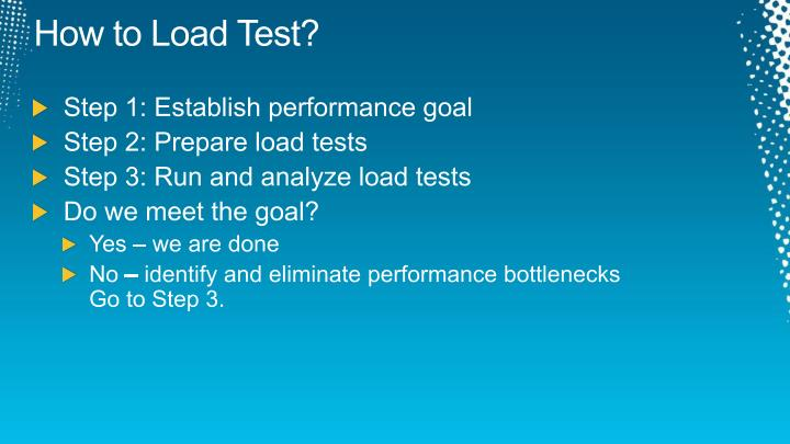 How to Load Test?