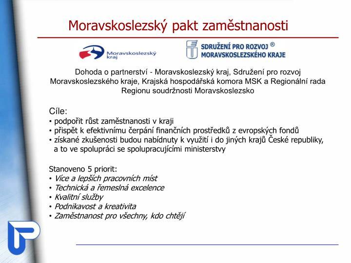 Moravskoslezský pakt zaměstnanosti