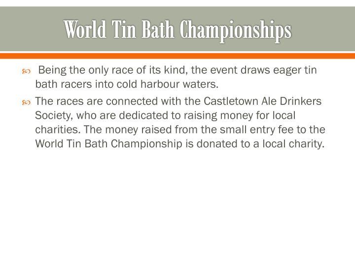 World Tin Bath Championships
