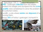 section 19 1 solid wastes1