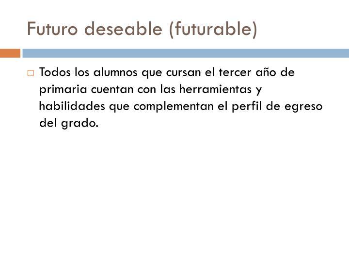 Futuro deseable (
