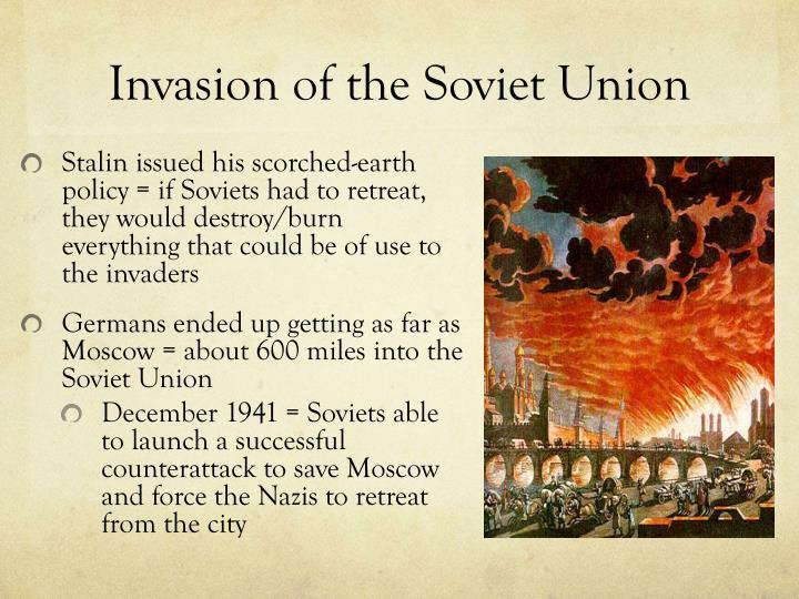Invasion of the Soviet Union