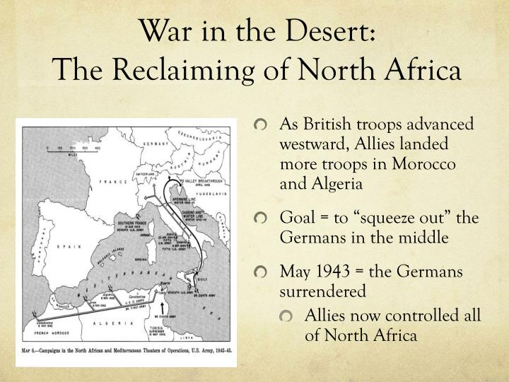 War in the Desert: