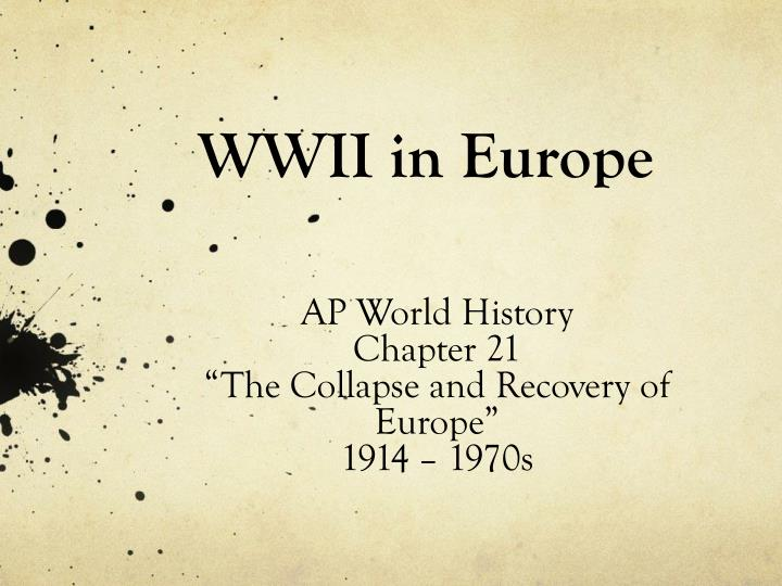 Wwii in europe