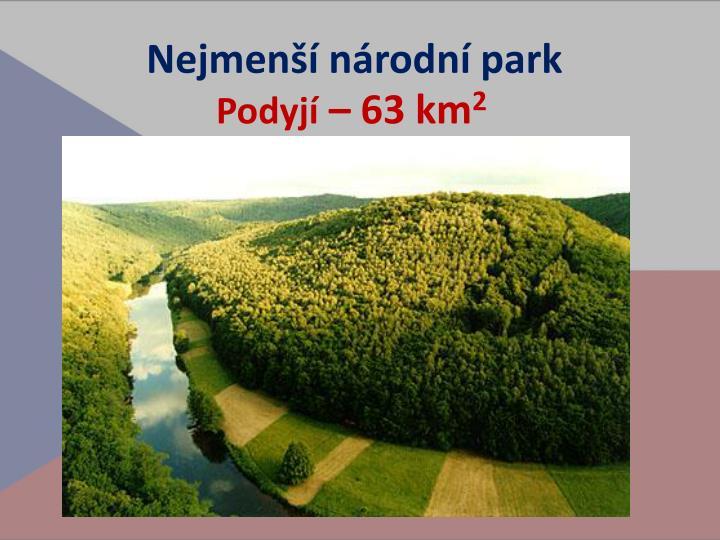 Nejmenší národní park