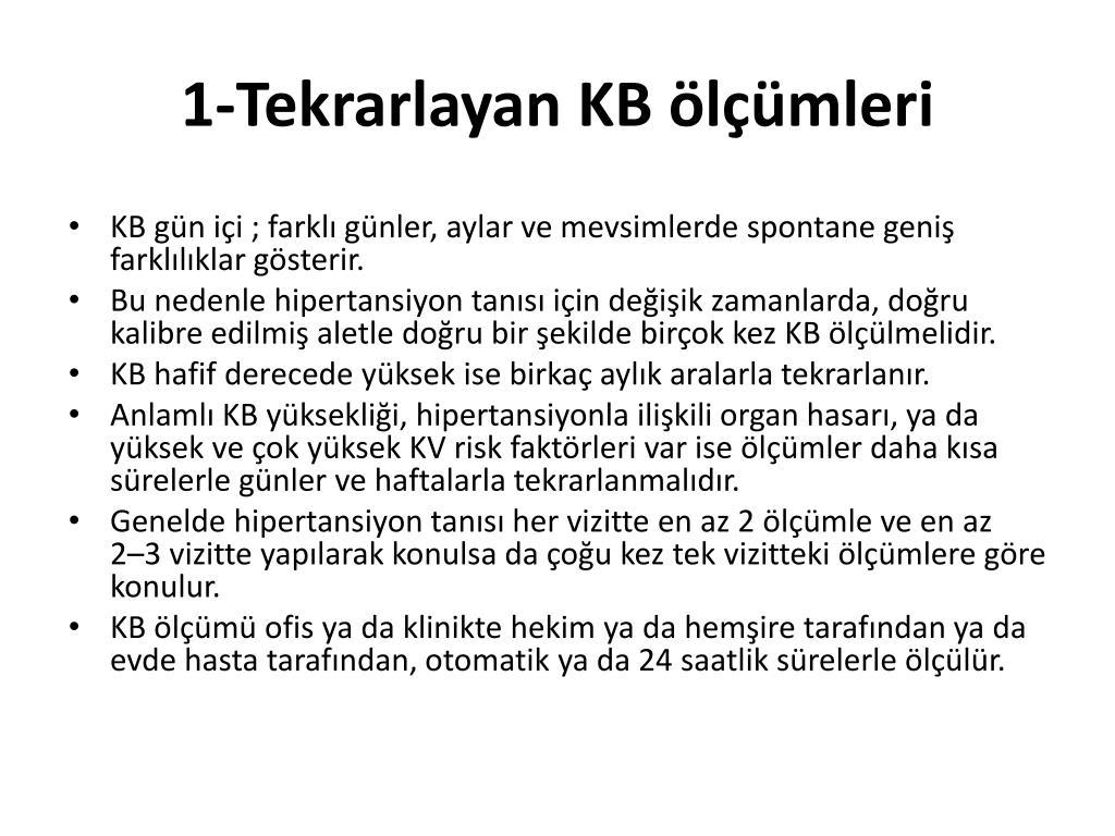 türk hipertansiyon uzlaşı raporu 2017 ile Verimli yöntemleri