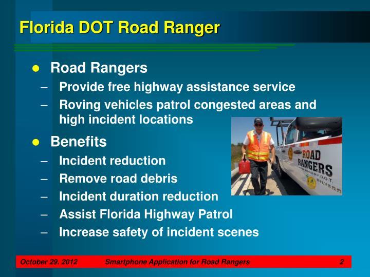 Florida dot road ranger