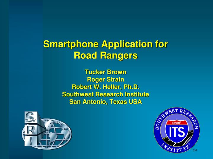 Smartphone Application for