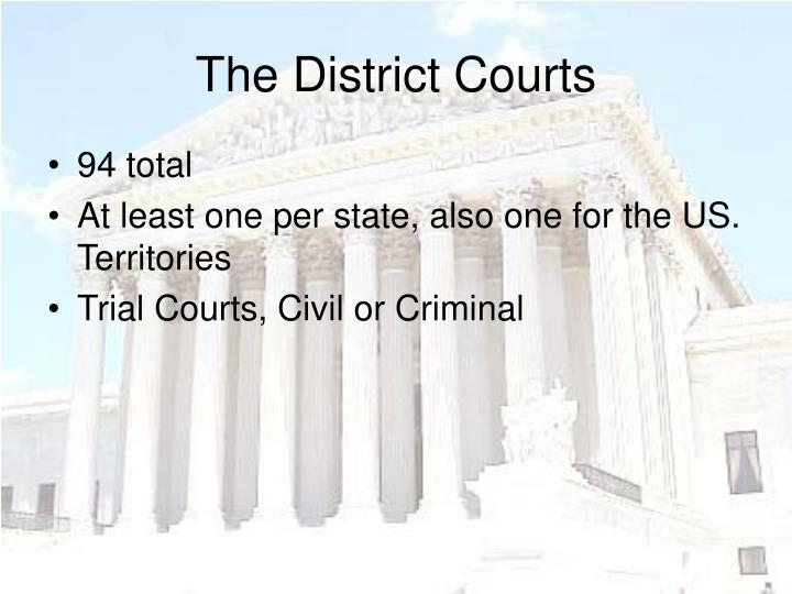 The District Courts