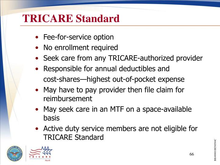 tricare presentation Tricare (styled tricare), formerly known as the civilian health and medical  program of the uniformed services (champus), is a health care program of the .