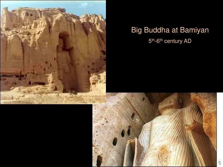 Big Buddha at Bamiyan