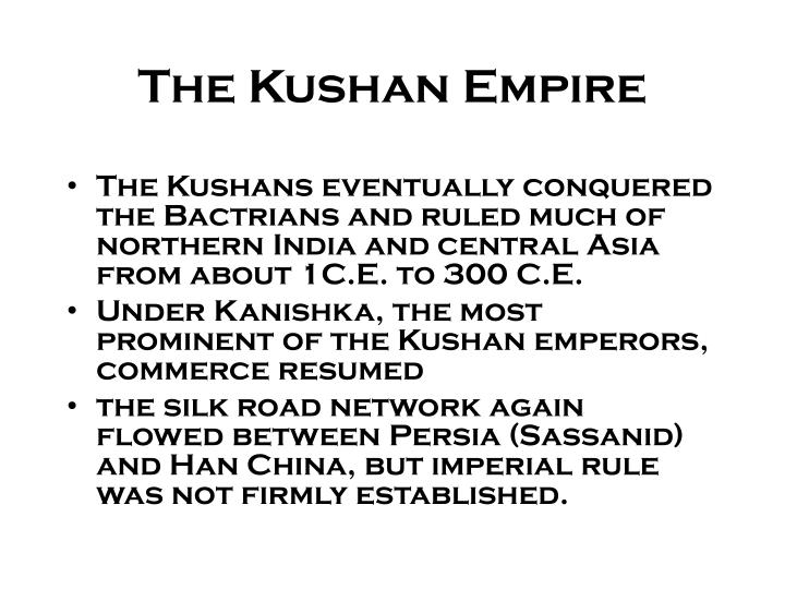 The Kushan Empire