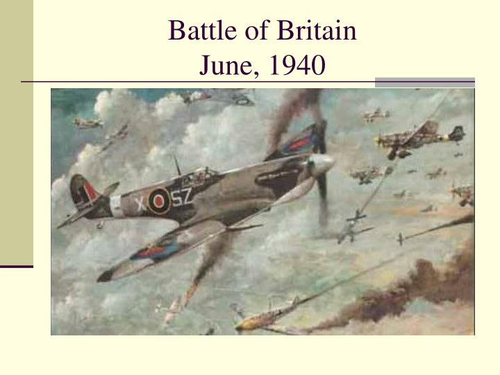 battle of britain june 1940 n.