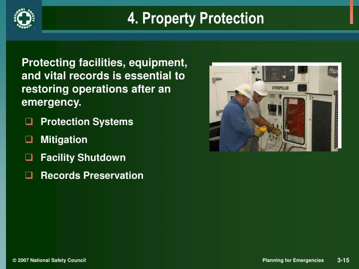 4. Property Protection